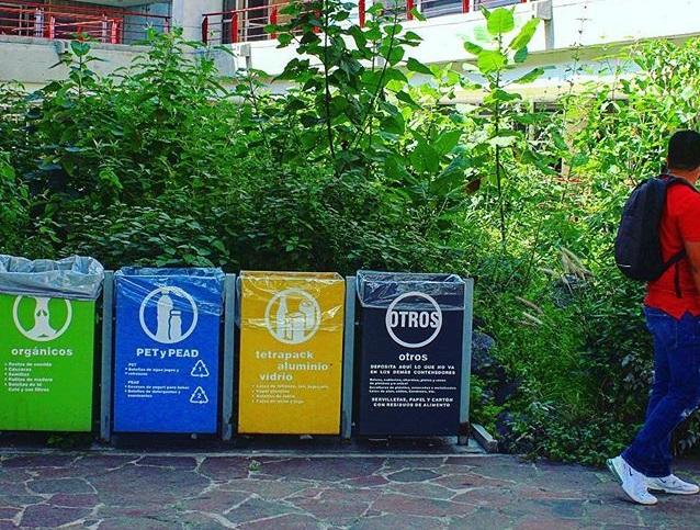 colores para clasificar los residuos sólidos