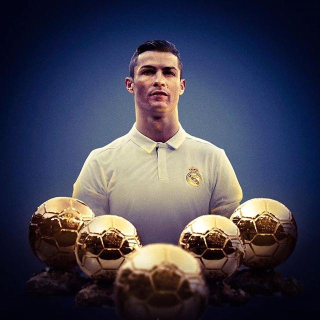 Cristiano Ronaldo y sus balón de oro
