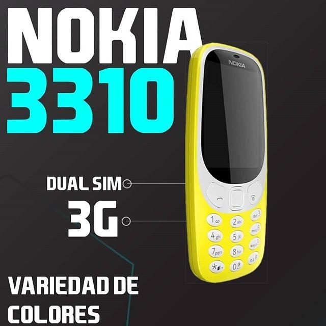 el clásico nokia 3310 se renueva