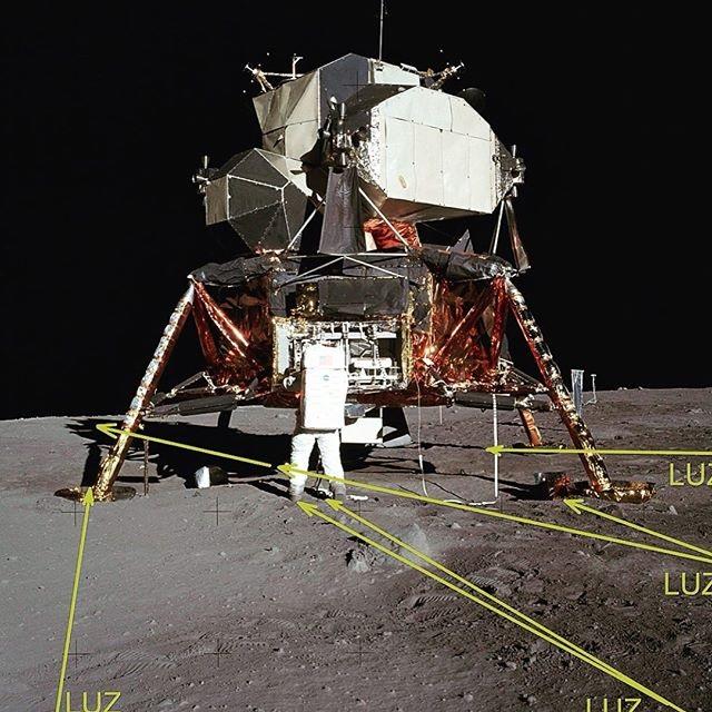 el hombre no llego a la luna