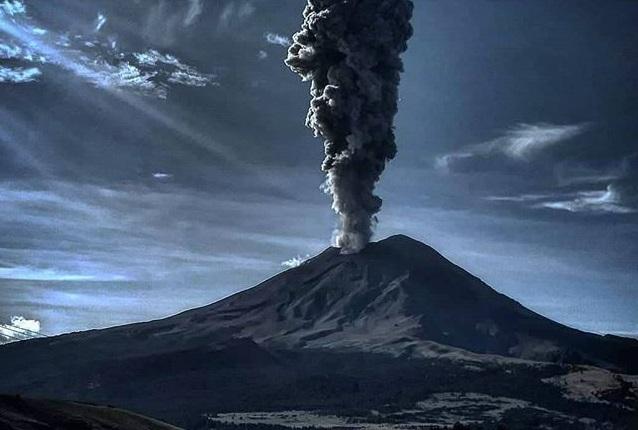 naturaleza volcan