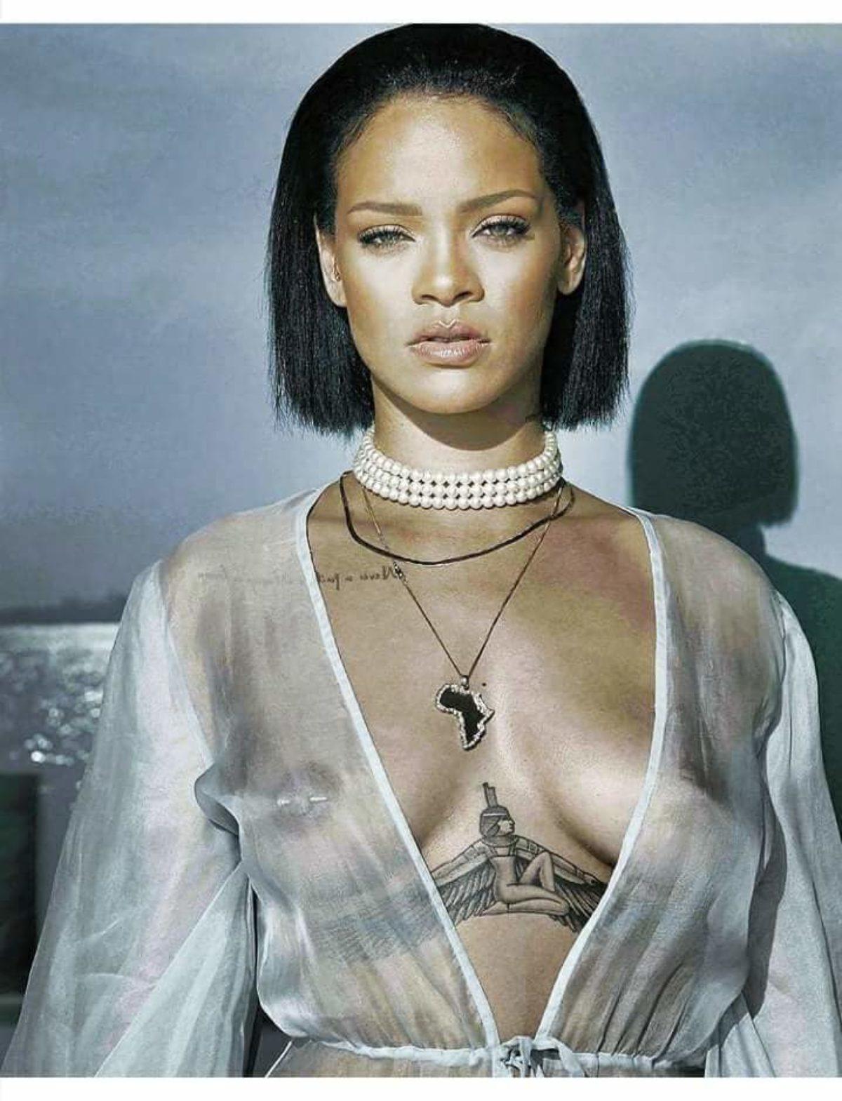 Cuales Son Los Tatuajes De Rihanna te mostramos los tatuajes más sexys de las celebridades de