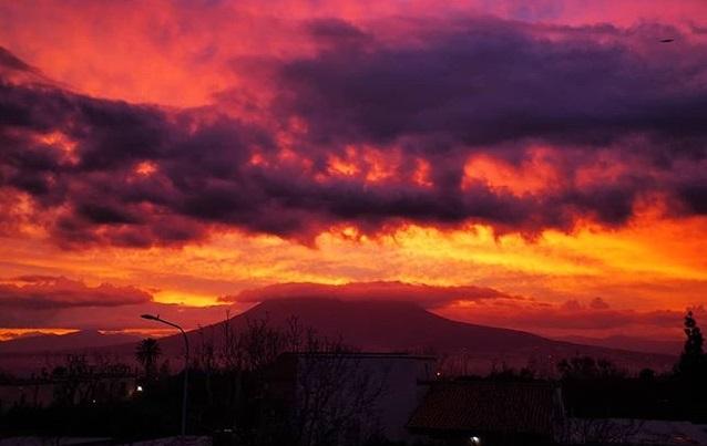 Erupcion de volcanes