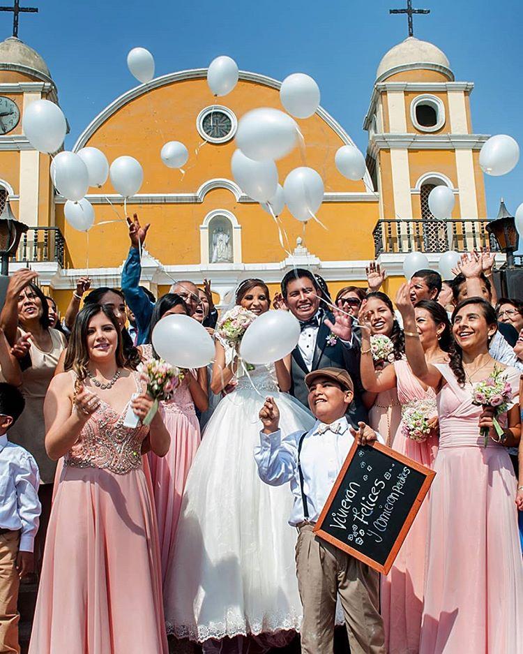 boda con globos