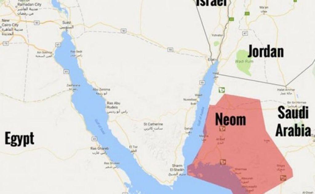 Ubicación de Neom