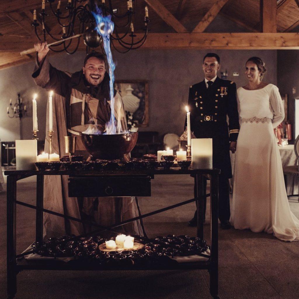 La queimada, el conjuro y la receta