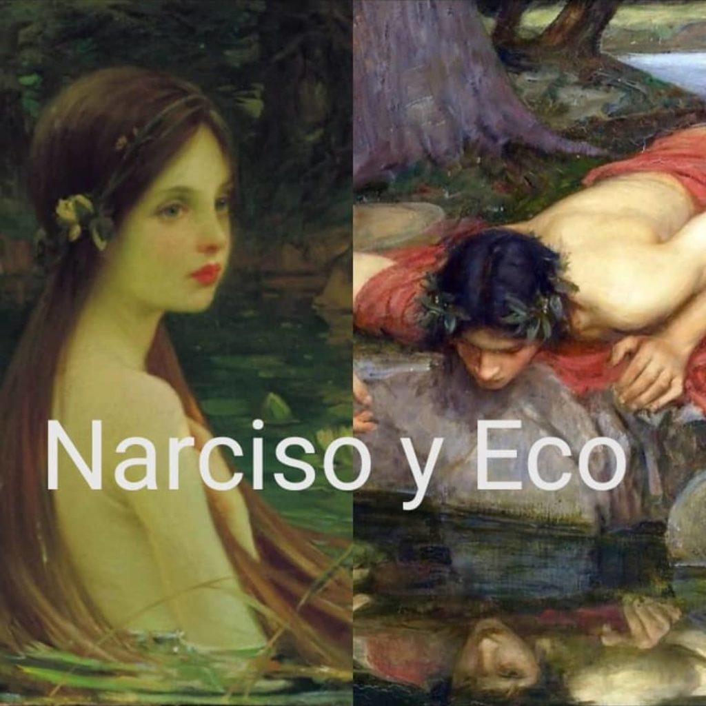 Narciso y Eco - Mitologia Mito Narciso