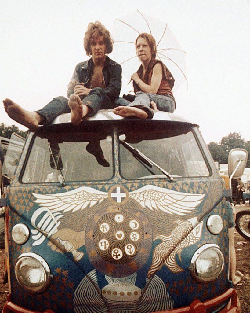 Contracultura Hippie Woodstock