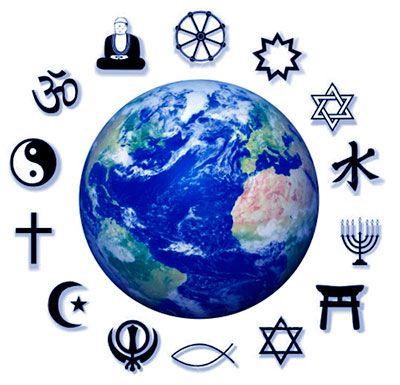 Tipos de religiones que existen en el mundo