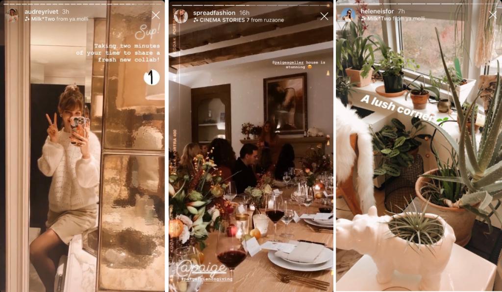filtros de Instagram bonitos